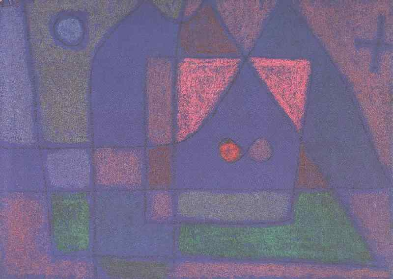 Paul Klee. Small room in Venice