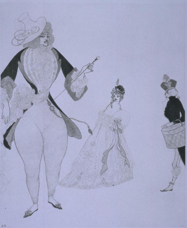 Aubrey Beardsley. Albert in search of his ideals