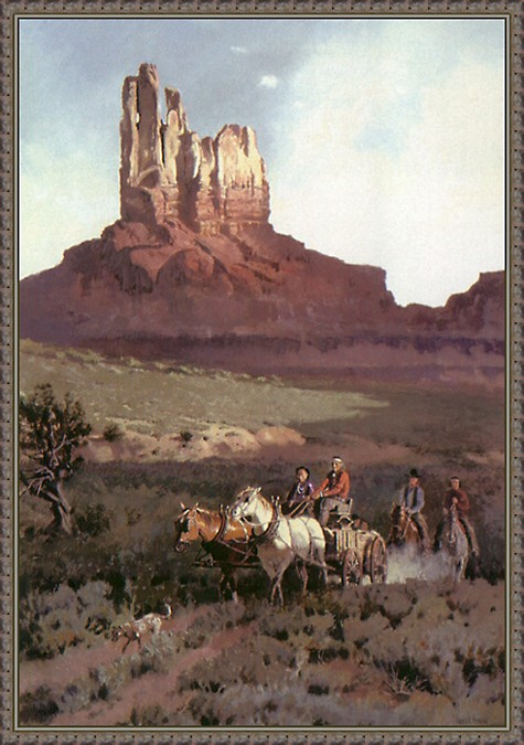 В  землях племени Навахо