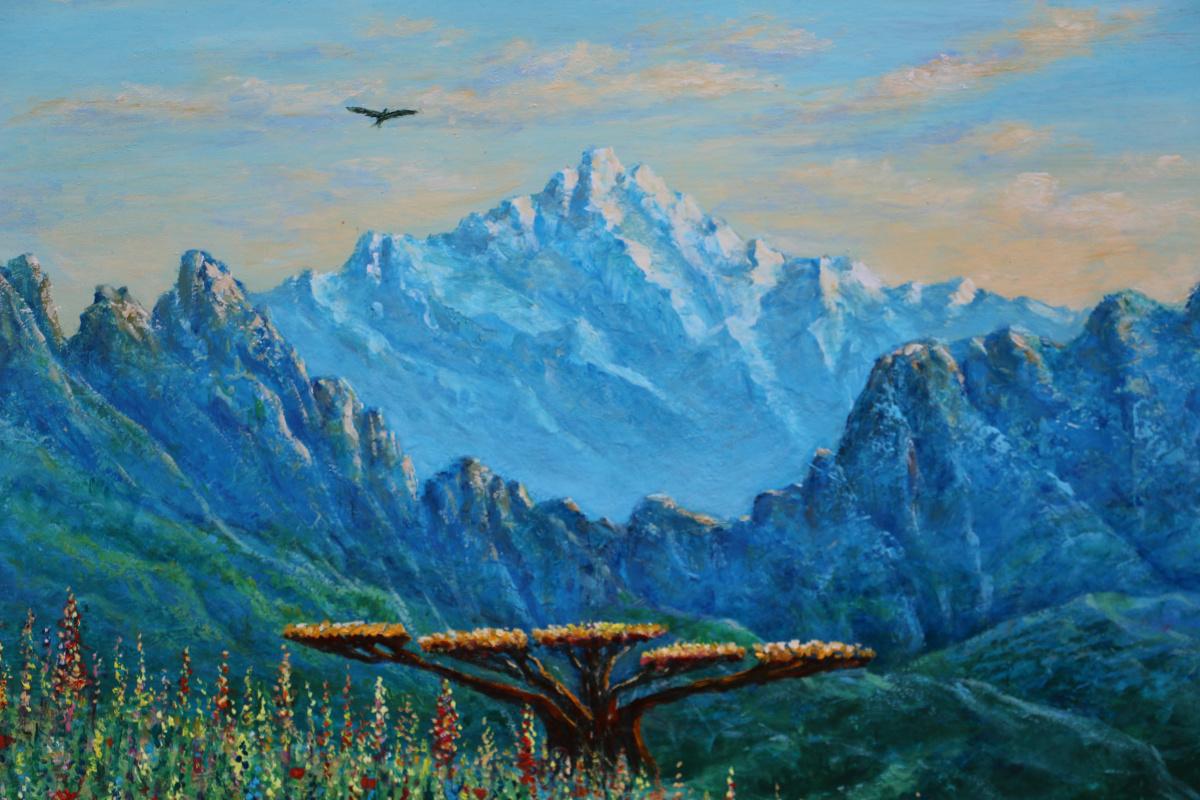 Najaf Mamedali oglu Mamedov. THE MOUNTAINS OF LERIK