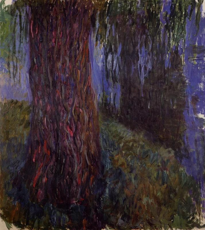 Клод Моне. Сад водяных лилий с плакучей ивой
