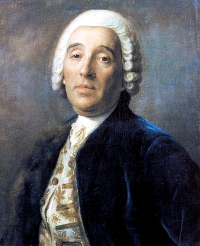 Портрет архитектора Бартоломео Растрелли