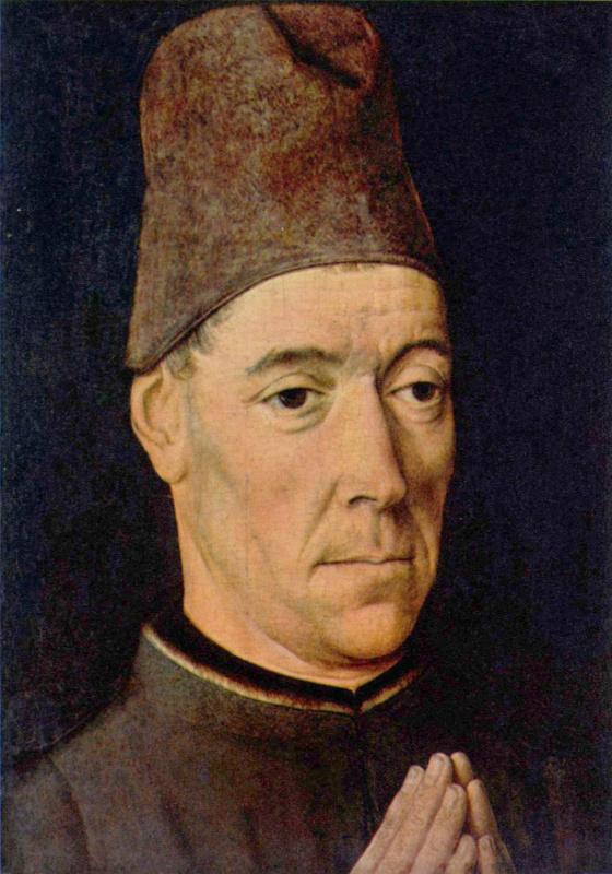 Дирк Баутс. Мужской портрет