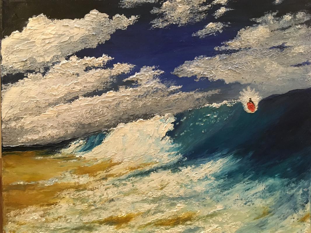 Larisa Benko. Inside the wave