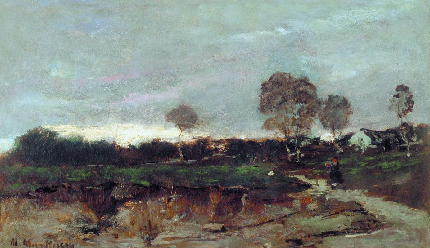 Михай Либ Мункачи. Сумеречный пейзаж