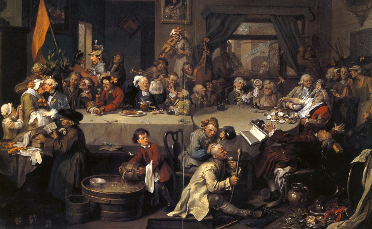Elections. Banquet