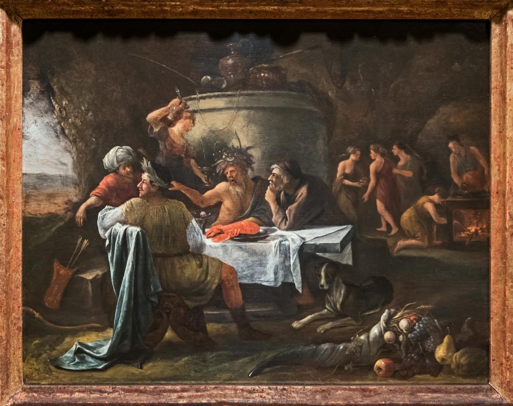 Theseus and Achelous