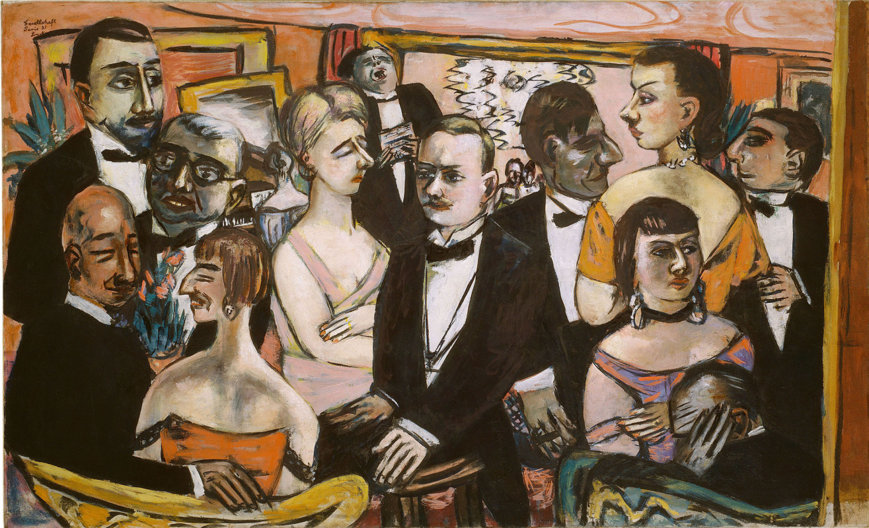 Max Beckmann. Parisian society