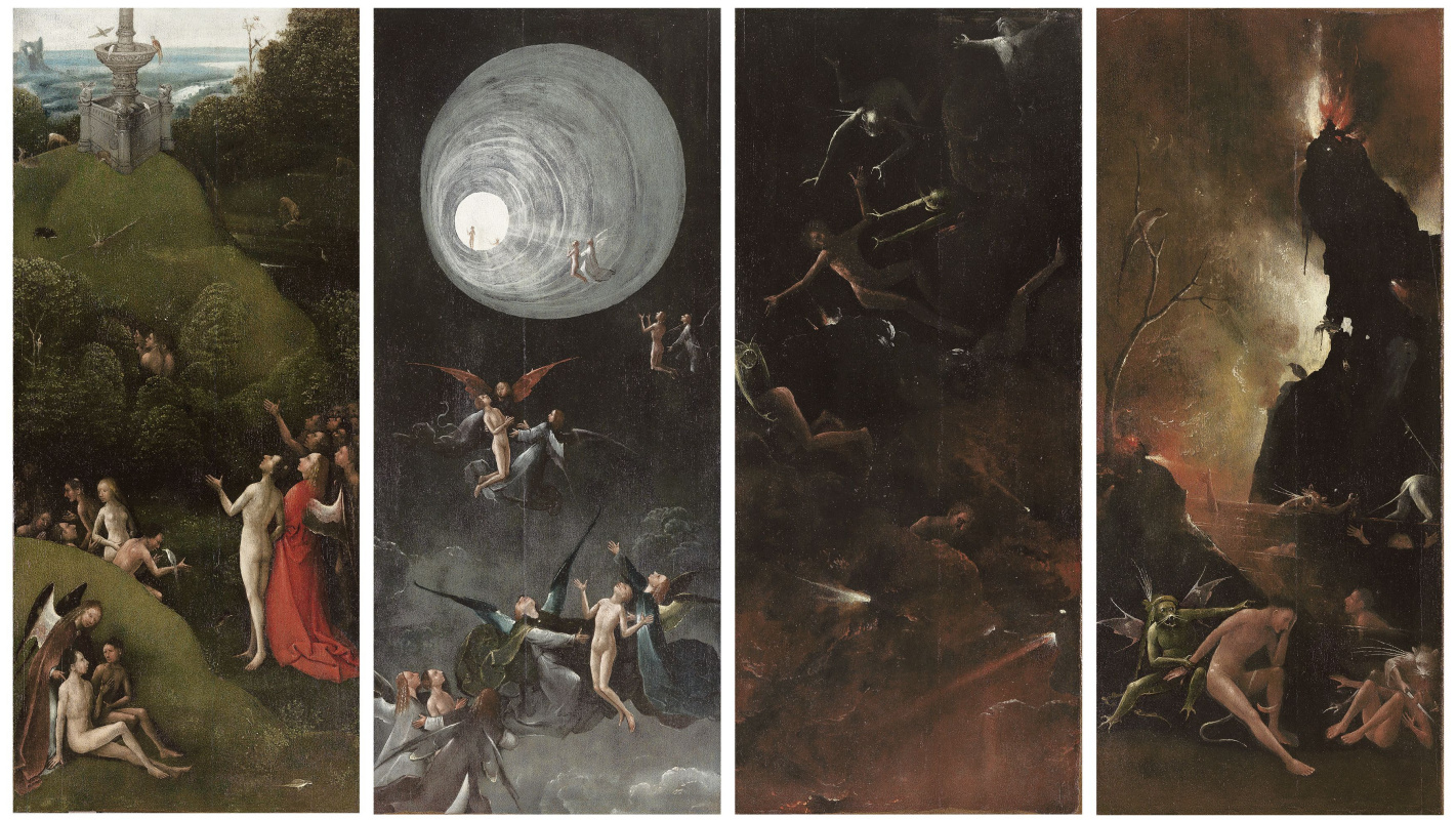 Hieronymus Bosch. Visions of the underworld (Blessed and cursed)