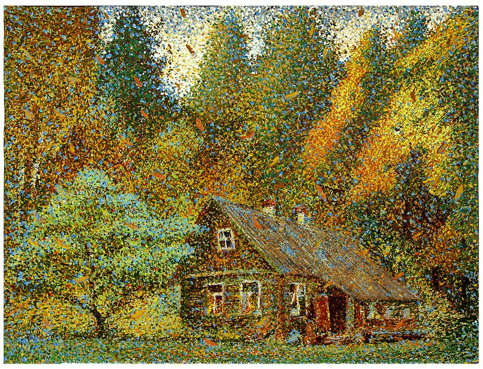 Nikolay Maksimovich Tomarev. House in the woods-