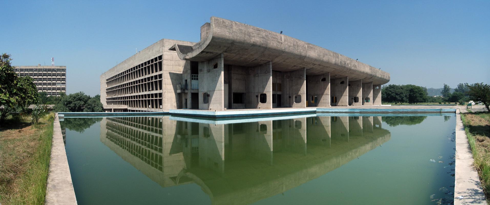 Le Corbusier. Chandigarh City