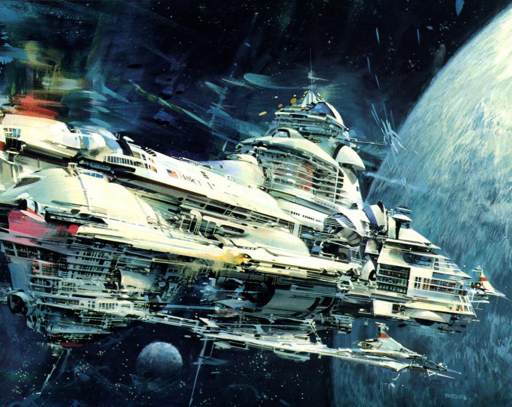 Джон Берки. Колонии в космосе