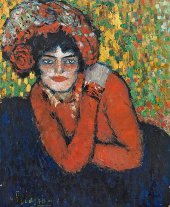 Pablo Picasso. L'attente (Margot)