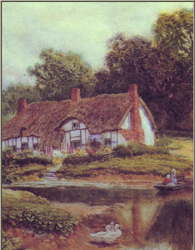 Артур Клод Стречен. Плывущие по реке