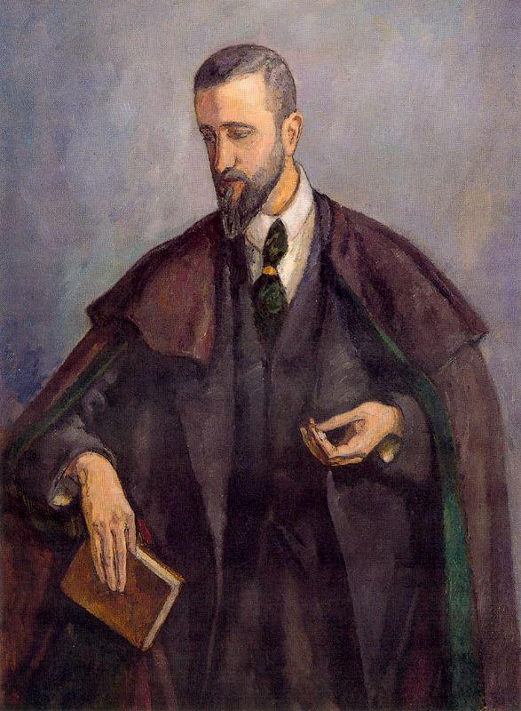 Артуро Соуто. Портрет мужчины