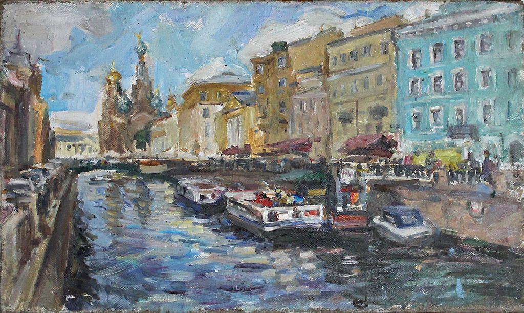 Vladimir Mikhailovich Nikiforov. Griboyedov Canal