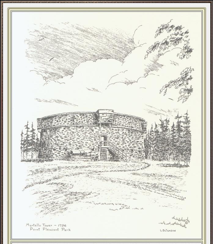 Дженсон Галифакс. Башня