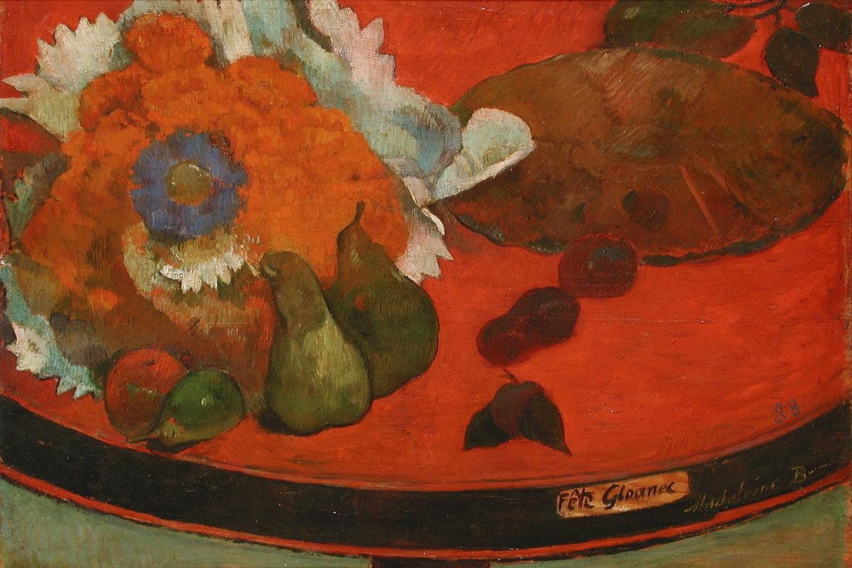 Paul Gauguin. Festive still life