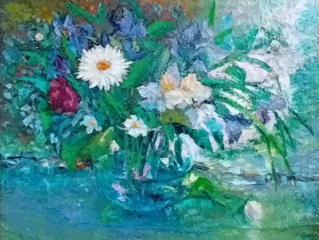 Valentin Nikolaevich Sudnitsyn. Flower fantasy