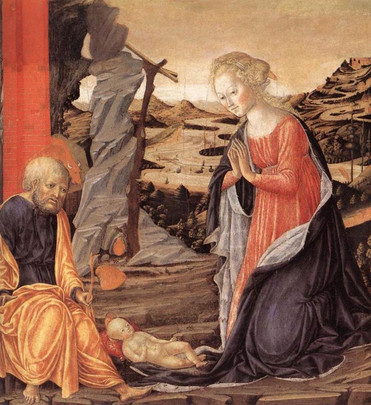 Франческо ди Джорджио Мартини. Новорожденный