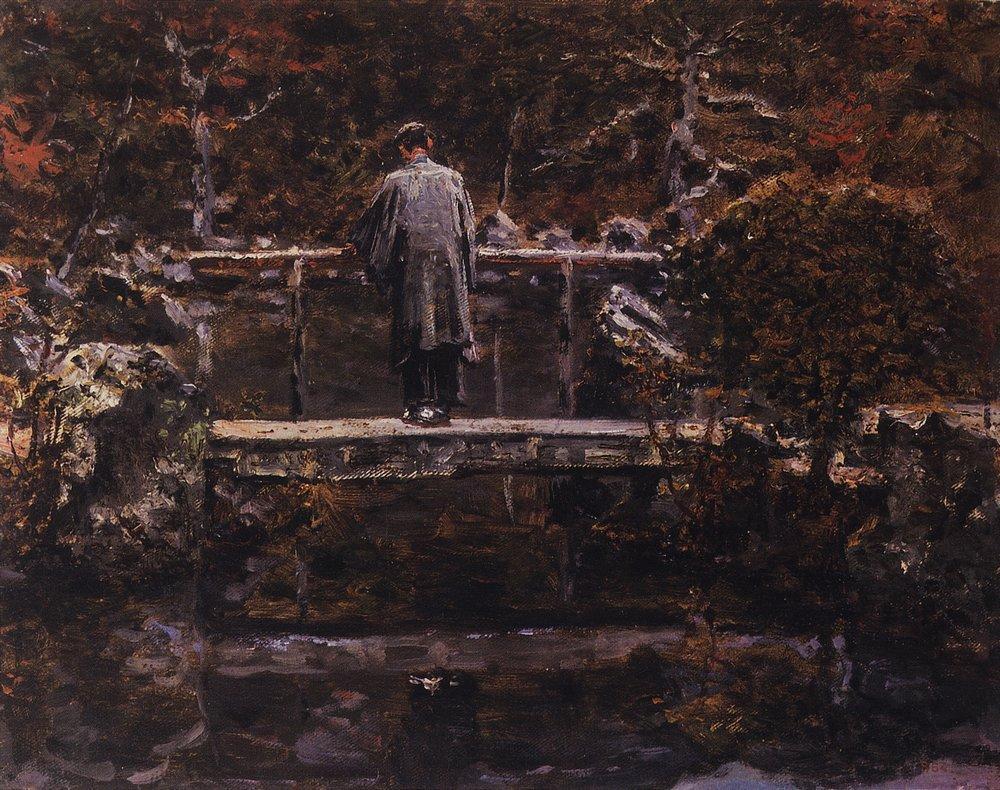 Василий Васильевич Верещагин. На мосту