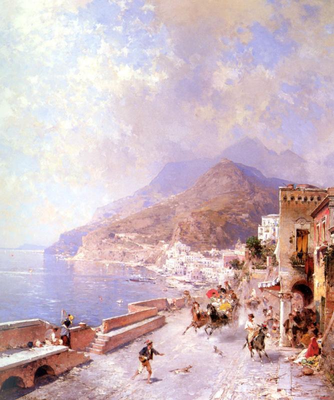 Franz Richard Unterberger. Amalfi