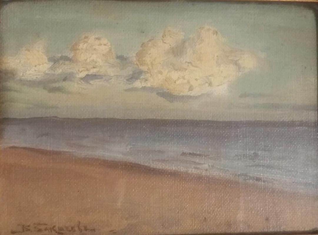 Vasily Nikolaevich Baksheev. Coast