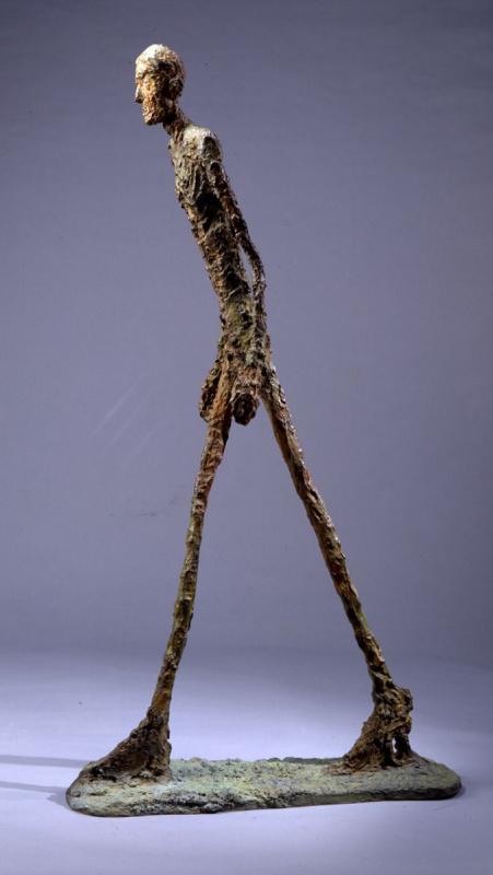 Alberto Giacometti. Walking man II
