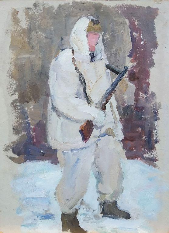 Maxim Sergeyevich Kosykh. Soldier