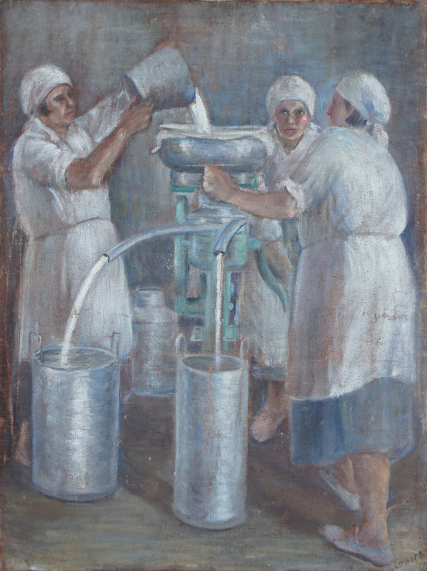 Антонина Петровна Рылло. Молочницы.