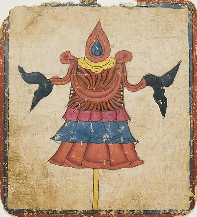 Unknown artist. The Victory Banner (Dhvaja)