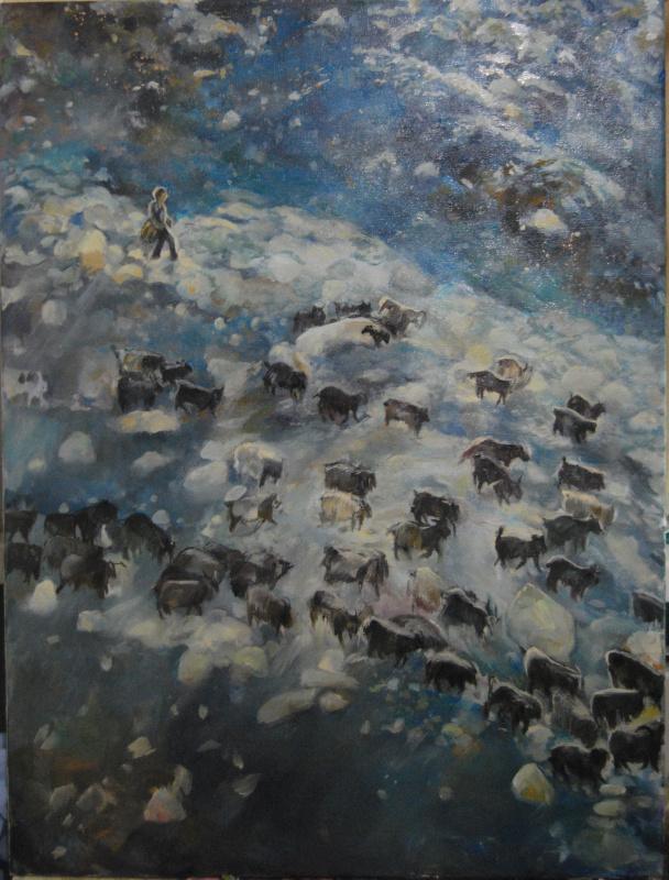 Виктория Викторовна Верхолазова. Пастух своих овец