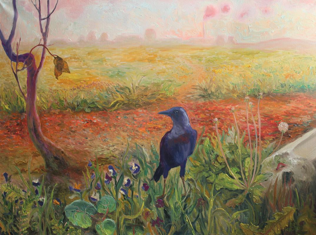 Evgeny Andreevich Kustov. Morning. Landscape