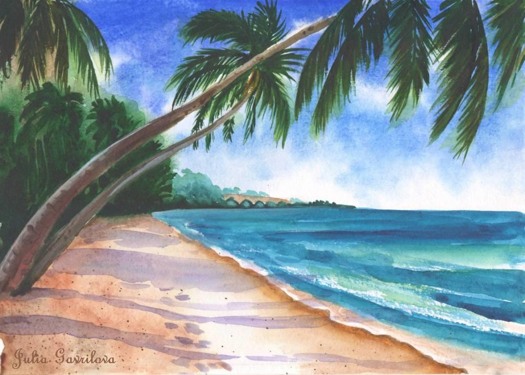 Юлия Гаврилова. Солнечный пляж