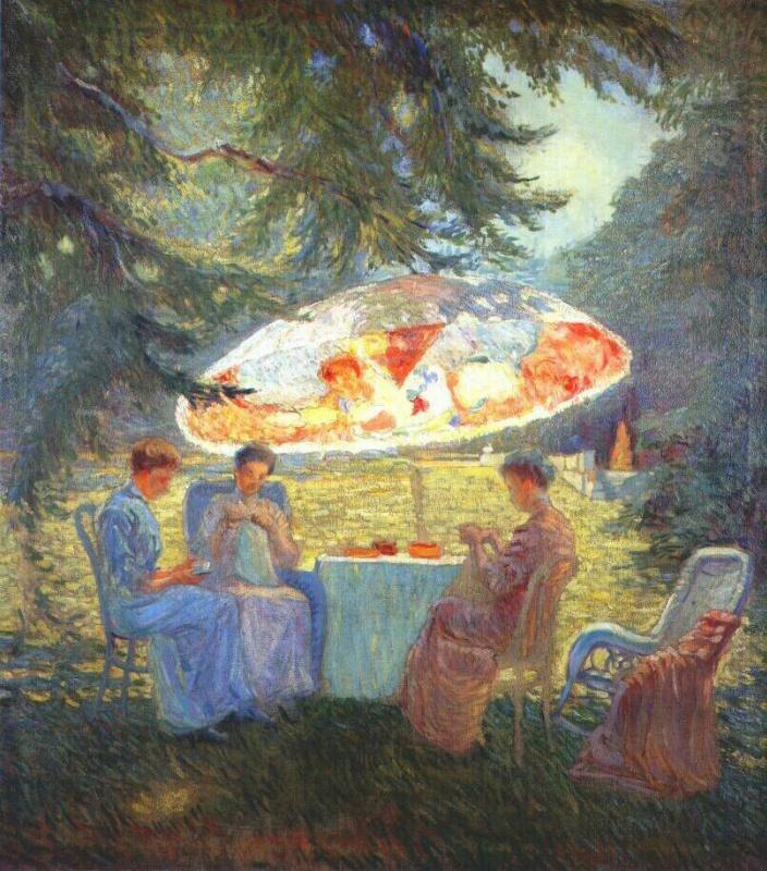 Ханна Паули. Чайная церемония