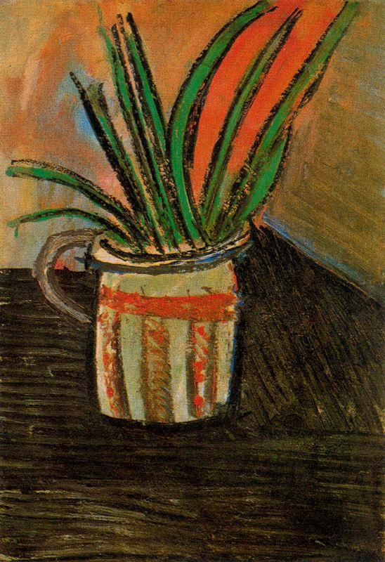 Пабло Пикассо. Экзотические цветы
