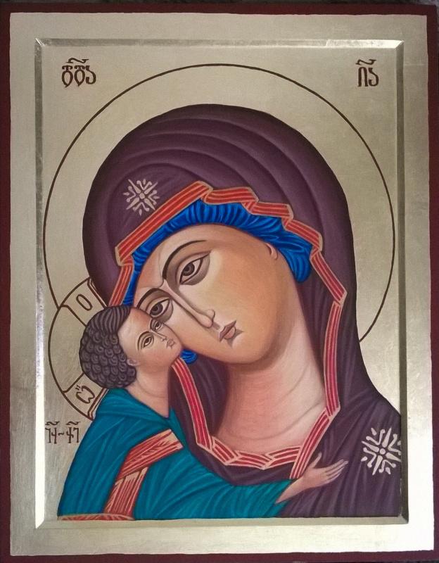 Badri bukia. Igorevskaya Icon of Our Lady