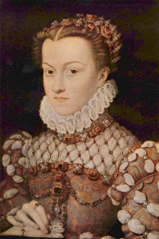Франсуа Клуэ. Портрет Елизаветты Австрийской