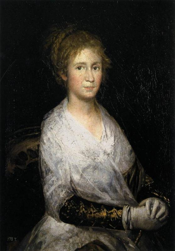 Франсиско Гойя. Хосефа Байеу, жена художника