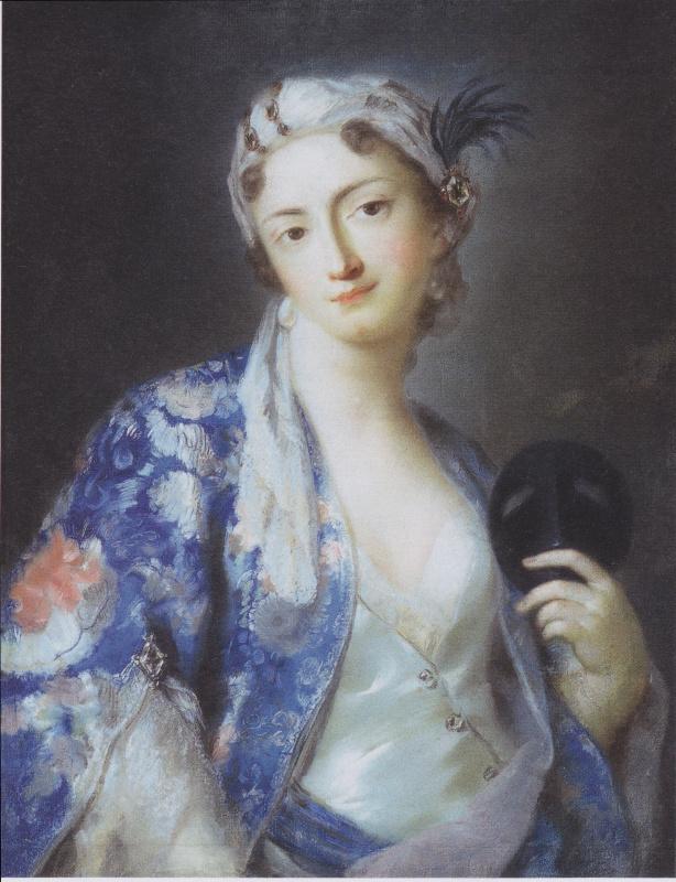Розальба Каррьера (Каррера). Портрет Феличиты Сартори в турецком платье