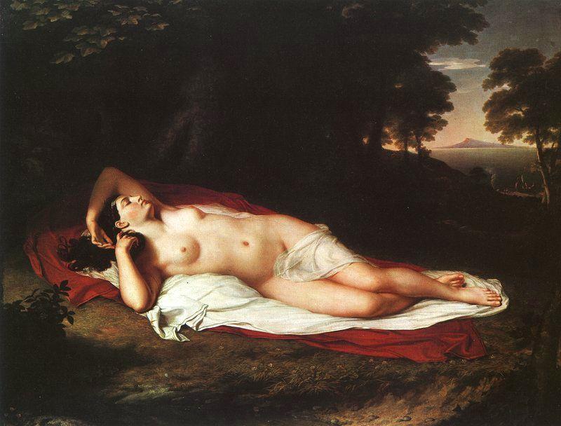 John Vanderlin. Reclining Nude