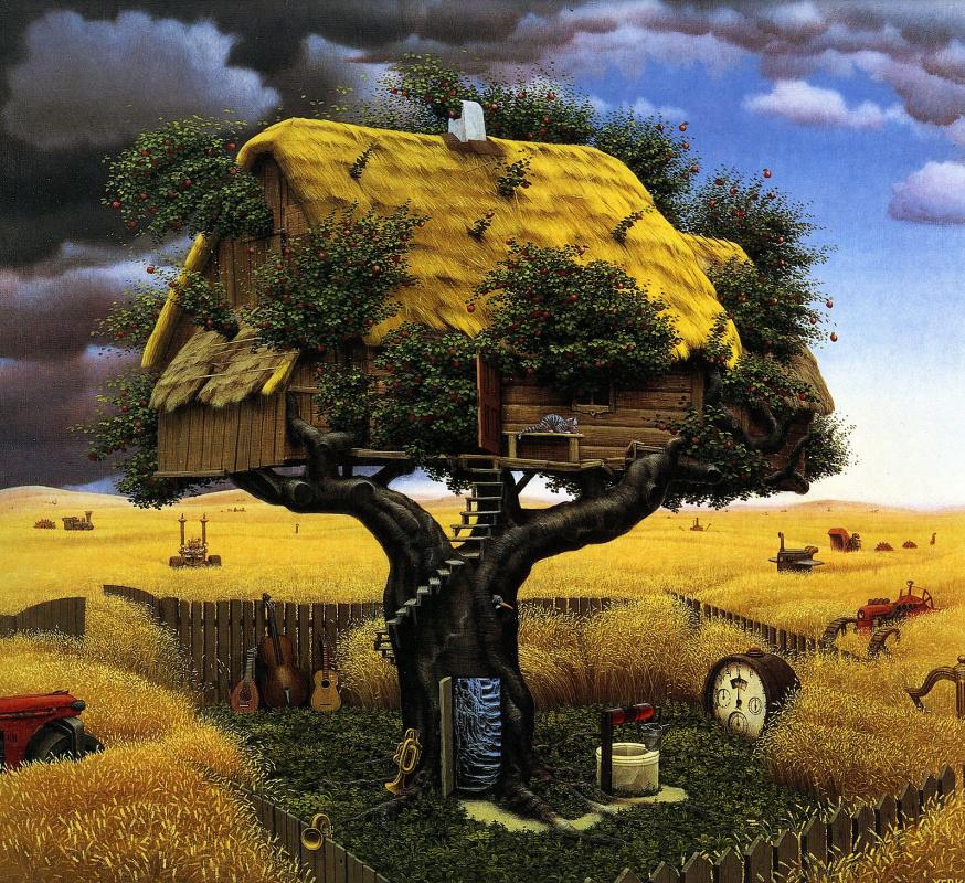 Jacek Yerka. Harvest