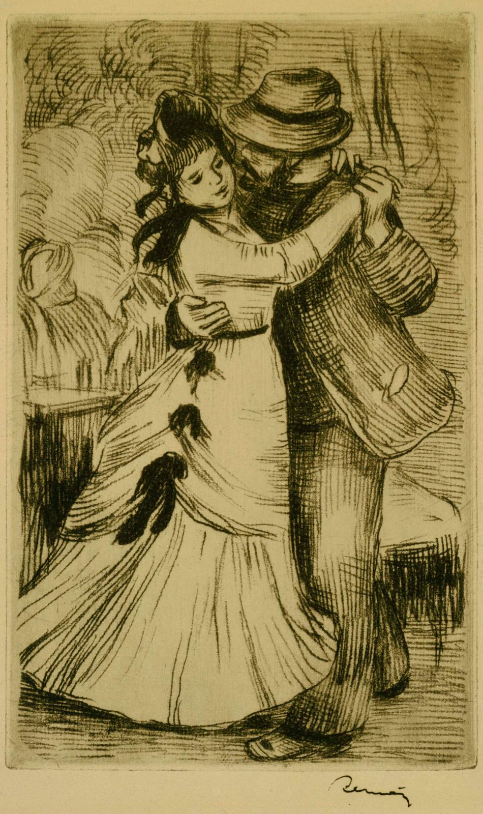 Пьер Огюст Ренуар. Танец в деревне