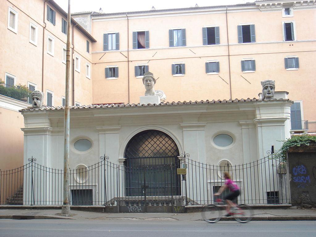 Antonio Junior yes Sangallo. Palazzo Sacchetti (View from the Tiber)