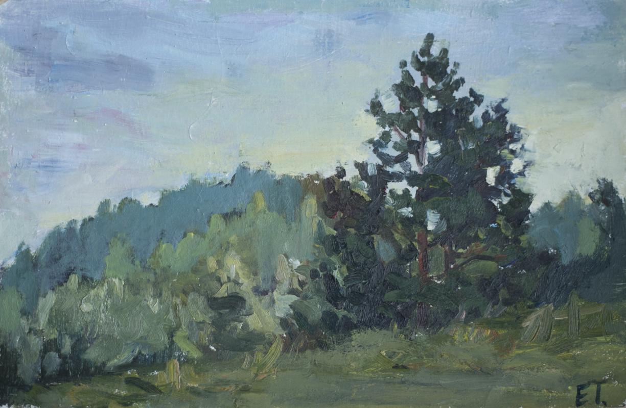 Tanika Yezhova. Edge of the forest