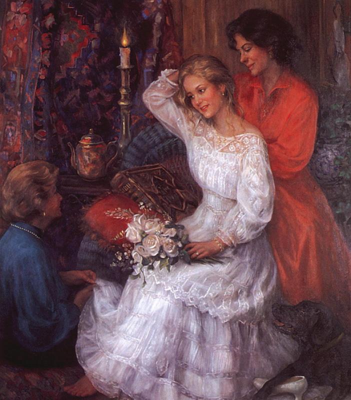 Кэрри Эдвардс. Свадьба