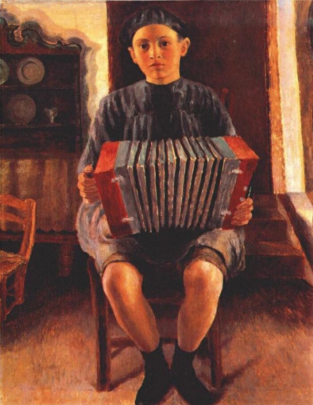 Дора Каррингтон. Испанский мальчик