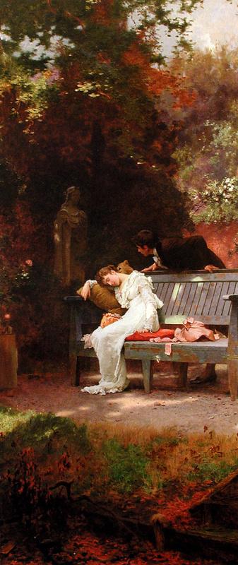 Маркус Стоун. Девушка в белом платье