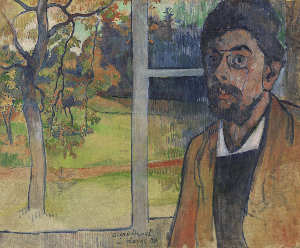 Unknown. Charles Laval - self-portrait