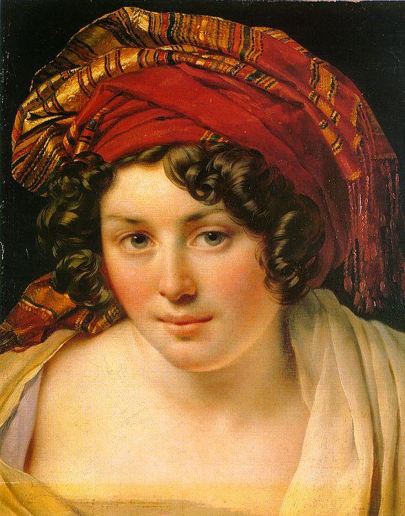 Энн-Луи Жироде де Русси-Триосон. Портрет женщины